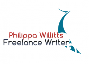 Philippa Willitts Freelance Writer Logo