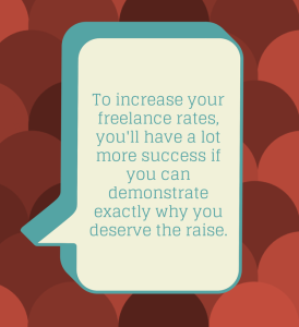 increase freelance rates